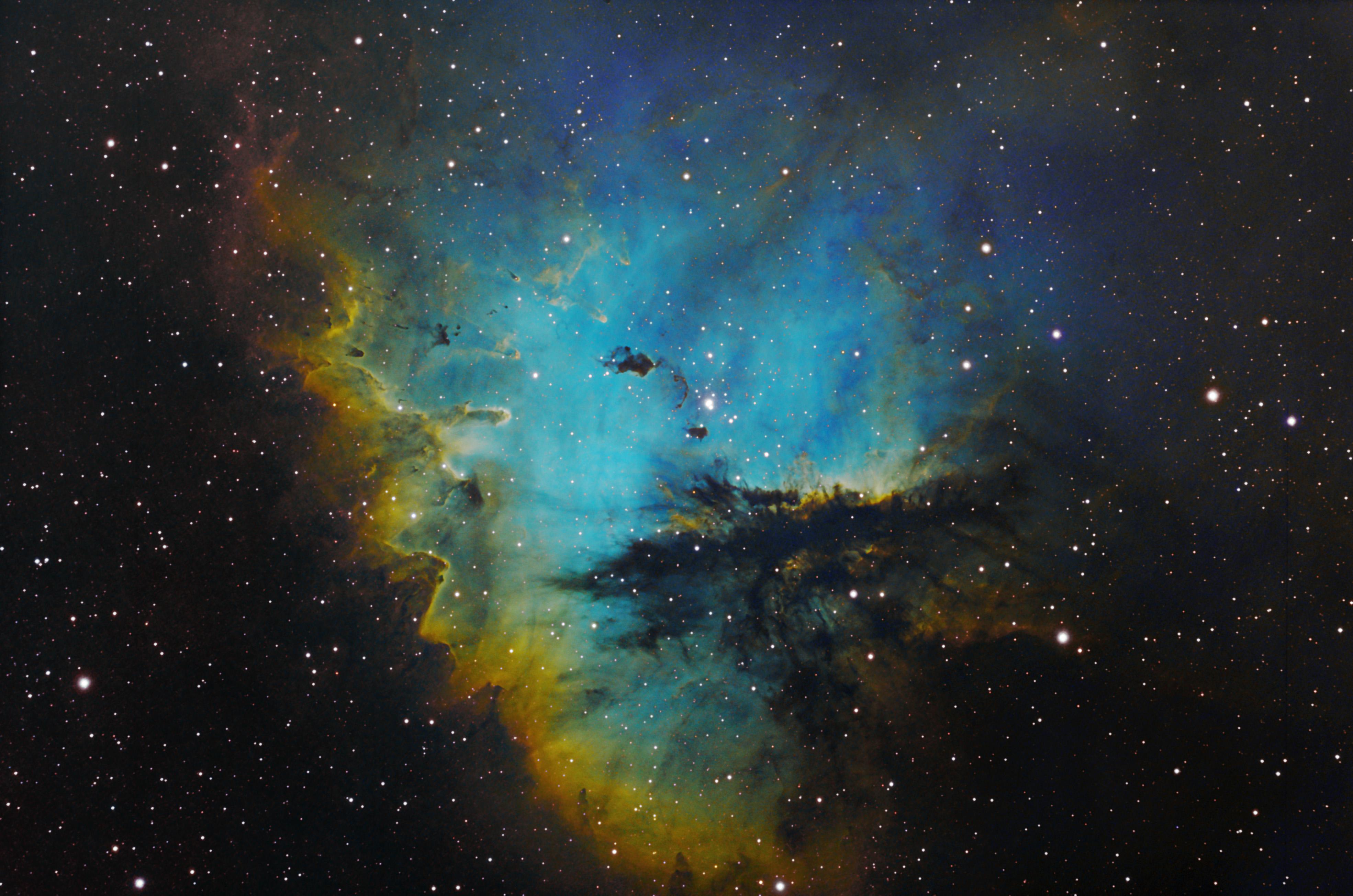 pacman nebula - photo #24
