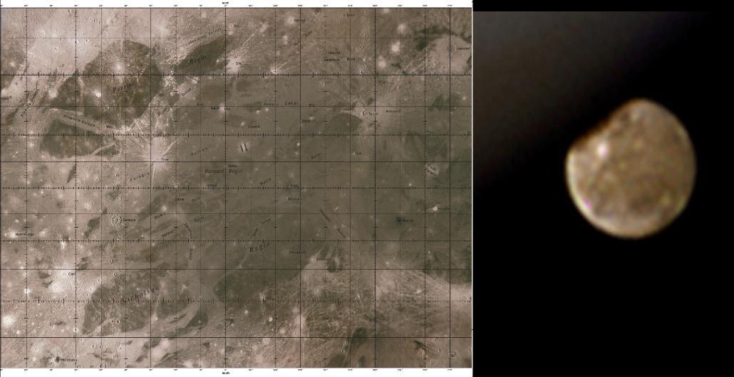 Callisto Map Search   USGS Map Callisto    or
